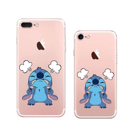 Disney Lilo & Stitch Cartoon iPhone 7 Plus Soft Clear Cases ? Mavasoap