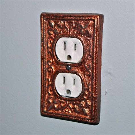 decorative outlet covers bronze decorative electrical outlet plate in cover