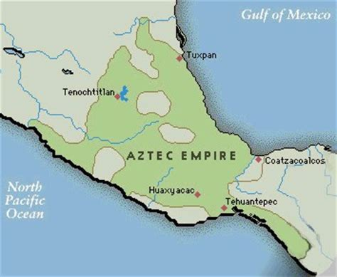 aztec empire map of the aztec empire the beat