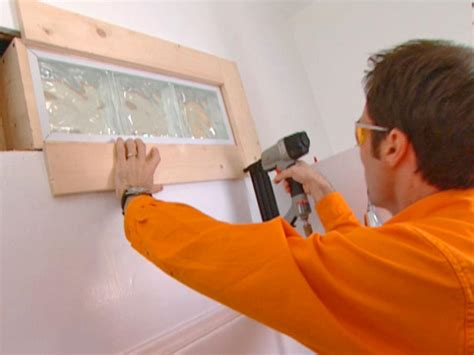how to replace bathroom window how to install glass blocks in a bathroom wall how tos diy
