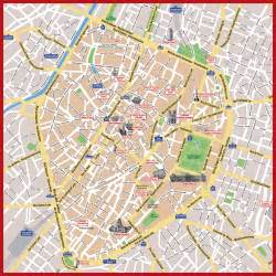 tourist map of central map of brussels 187 travel