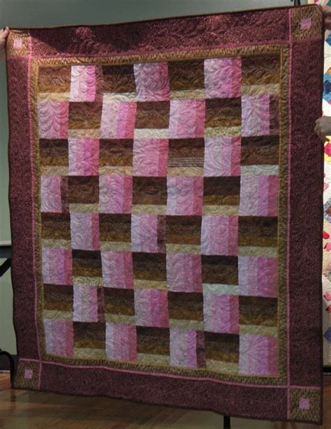 Fence Rail Quilt Pattern by Intro To Quilting Quilt Patterns For Rail Fence