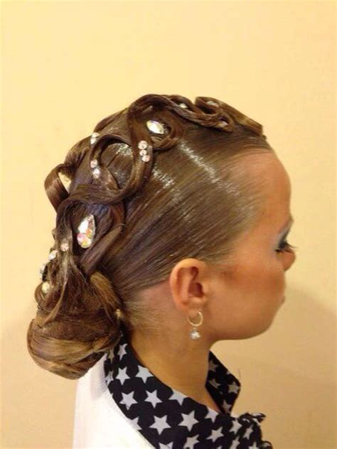 ballroom dance hairstyles 1000 images about hair on pinterest updo ballroom