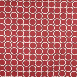Red Home Decor Fabric by Home Decor Fabric Nautical Maritime Link Red