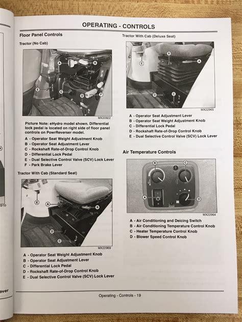 john deere jd     compact utility tractor operators maintenance manual