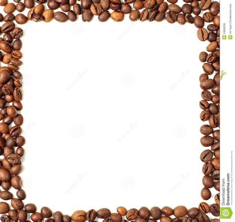 Coffee frame stock photo. Image of chocolate, close, food