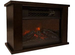 efficient electric fireplace pro mini fireplace infrared quartz electric space heater energy efficient ebay
