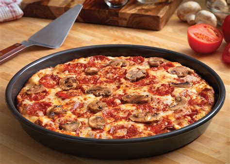 Handmade Pan Pizza - dominos pizza deal 50 and win free pizza quot deal