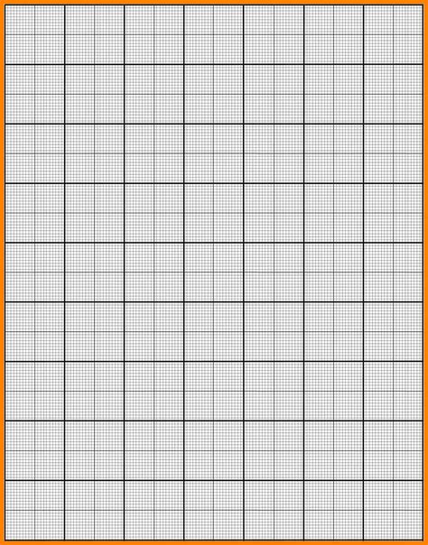How To Make Graph Paper - 8 graph paper printouts applicationleter