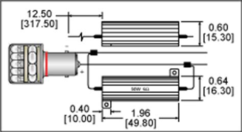 load resistor diagram load resistors for autos and motorcycle systems with led bulbs