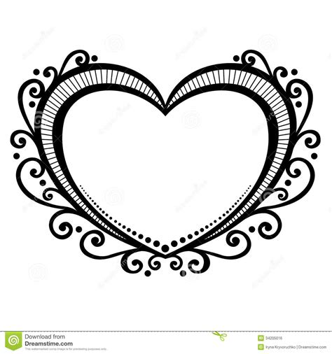 deco heart royalty free stock image image 34205016