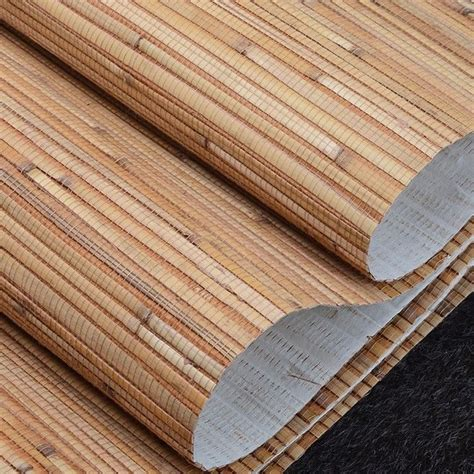 wallpaper for walls roll natural bamboo straw wallpaper rolls wall paper for