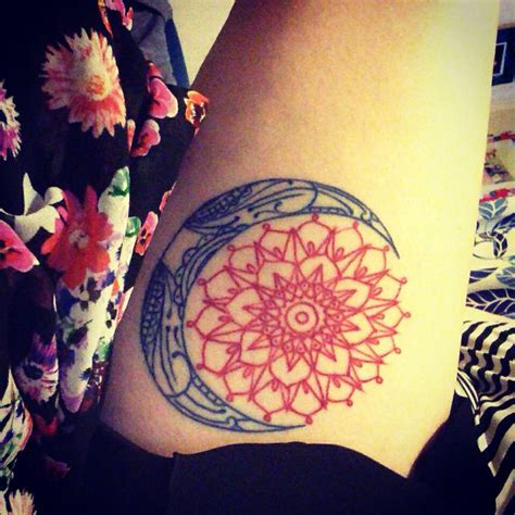 mandala sun tattoo sun moon mandala circle tatspiration