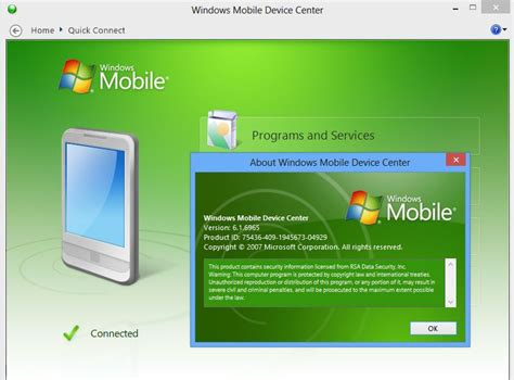 microsoft windows mobile device center microsoft windows mobile device center 64 bit 6 1 free