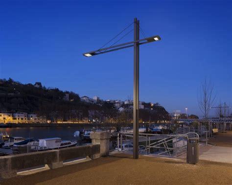 illuminazione urbana lione quai rambaud lione ewo porta luce negli spazi pubblici
