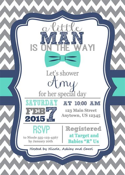 Baby Shower Invitation Wording For A Boy by 25 Best Ideas About Baby Boy Invitations On Baby Shower Invitation Wording Baby