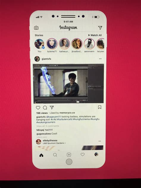 this is what your instagram app might look like soon here s how your favorite apps might embrace iphone 8 s notch