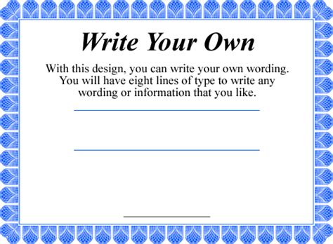 make your own certificate template make certificate images images