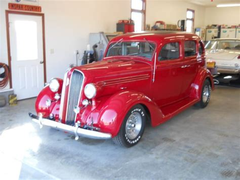 street rod  plymouth touring sedan  sale  technical specifications description