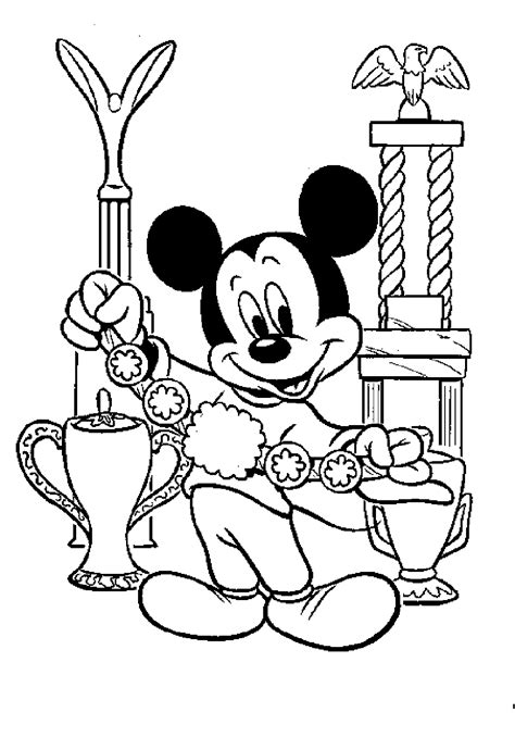 Baby Mickey Mouse Coloring Pages Coloring Home - images coloring pages mickey mouse house of mouse