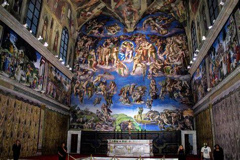 imagenes ocultas en la capilla sixtina inauguraci 211 n replica de la capilla sixtina en quer 201 taro