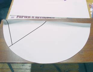 How To Make A Paper Nose Cone - paper nose cone for 3 inch airframe