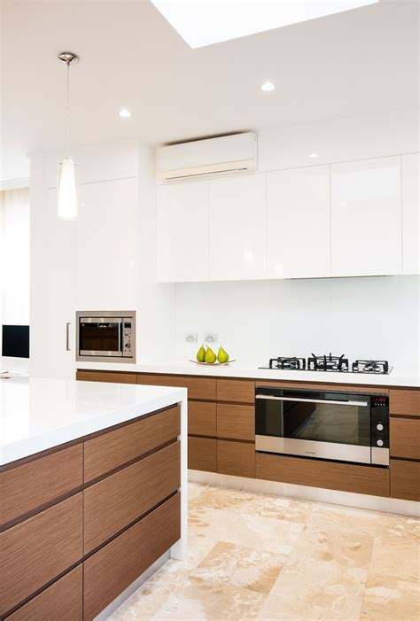 White Wood Kitchens caulfield south modern kitchen smith amp smith