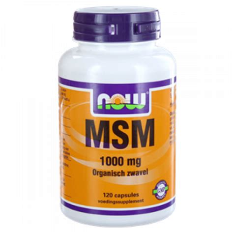Msm Detox Side Effects by Msm 1000 Mg 120 Caps