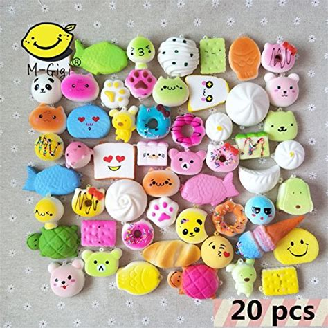 Soft And Slowrise Squishy Random Hk Mini Bun m gigi random squishy scented rising kawaii simulation bread children soft