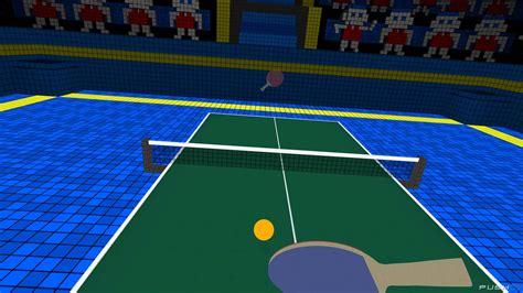 ping pong vr ping pong review ps4 push square