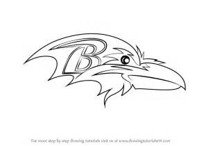 Learn Draw Baltimore Ravens Logo Nfl Step Step Drawing Tutorials