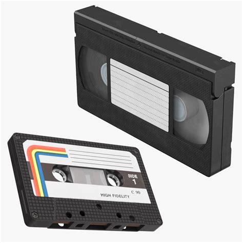 vhs cassette vhs cassette 3d model turbosquid 1176887