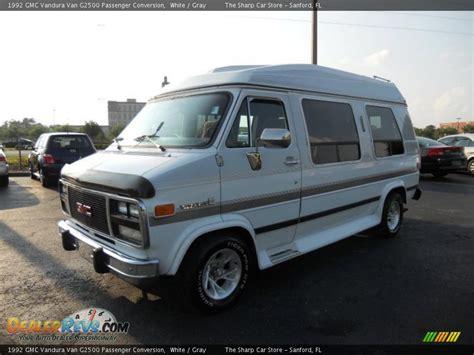 1992 gmc vandura g2500 passenger conversion white
