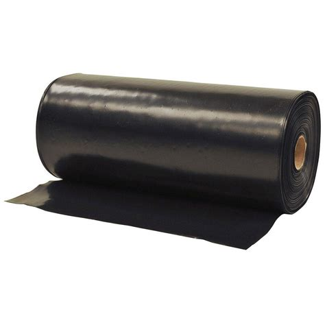 husky 1 ft x 300 ft black plastic sheeting