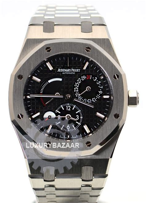 Audemars Piguet Royal Oak Dual Time 26120ST.OO.1220ST.03   Luxury Bazaar   www.luxurybazaar.com