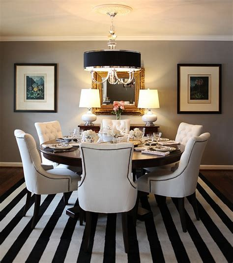 Grey Dining Room Colour Scheme I The Classic Black White Gray Color Scheme For The