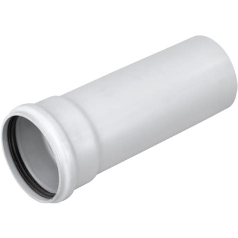 Marley Plumbing by Marley 110mm X 3m Socketed Soil Pipe