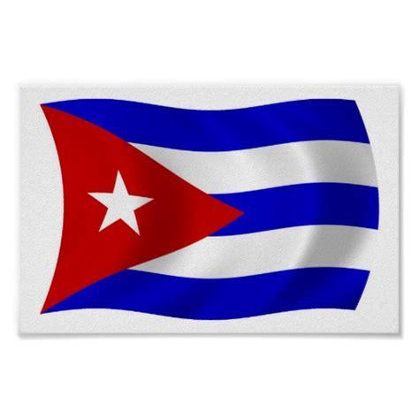 printable flag poster cuba flag poster print zazzle