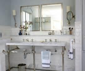 marble top bathroom vanity transitional bathroom bhg
