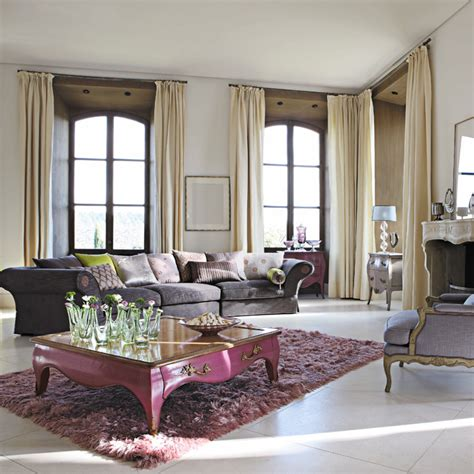 modern and french country furniture by roche bobois spring summer living room designs