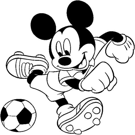 mickey mouse soccer coloring page mickey mouse ausmalbilder ausmalbilder f 252 r kinder