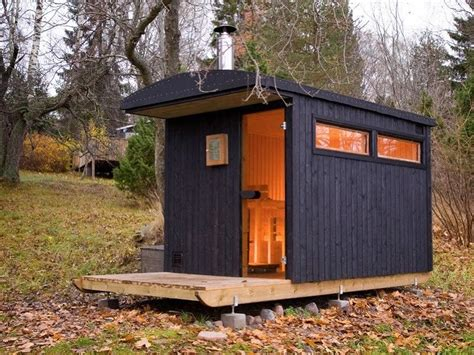 Shed Sauna by The Flying Tortoise A Simple Sauna Shed On A Sled