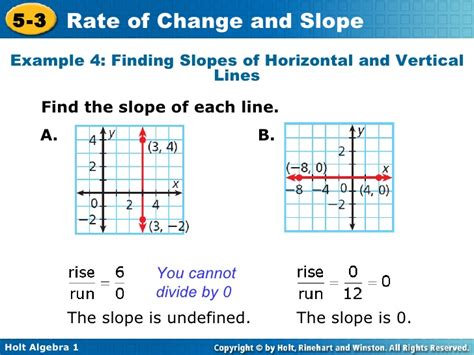 Rate Of Change And Slope Worksheet With Answers by Chapter 5 Rate Of Change And Slopes