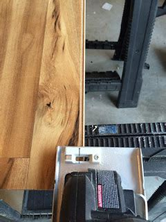 Art Display from Repurposed Laminate Flooring {And Other