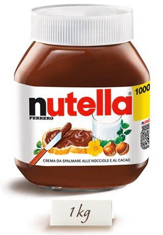Nutella 1000gr nutella 1kg it alimentari e cura della casa