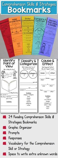 printable bookmarks for elementary students biography graphic organizer elementary reading