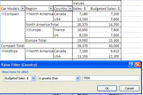 Filter Pivot Table by How To Filter Data In Excel 2007 Using Vba Macros For