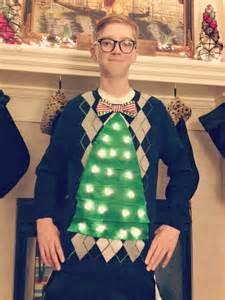 how to make a tacky sweater with lights diy sweater it s so it s