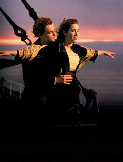 titanic film galleries kate winslet re enacts the famous titanic pose the