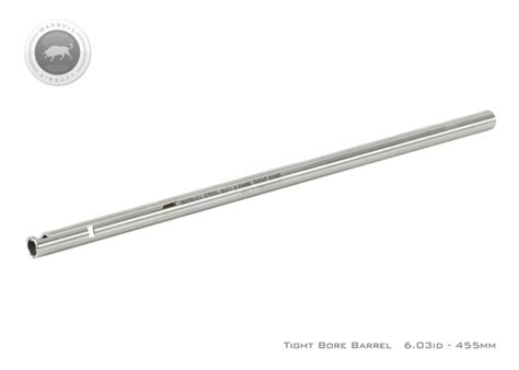 Raket Hi Qua Accurate 700 madbull airsoft stainless steel steelbull tight bore